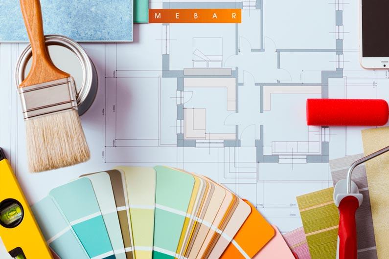 Tendencias para pintores en pinturas decorativas 2019 en hogares