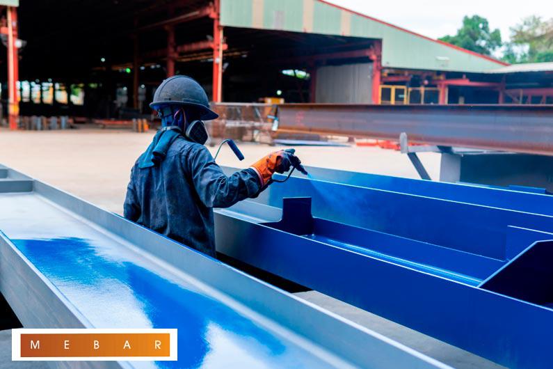 ¿Para qué se usan las pinturas industriales?